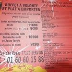 """Royal Grill"" - Prix et adresse du restaurant"