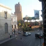 Ausblick aus dem Hotel