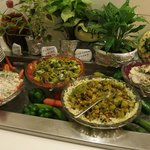 Great Salads at the buffet