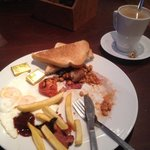 Delicious breakfast and coffee for under £5!