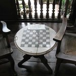 Chess table where Jose Rizal played