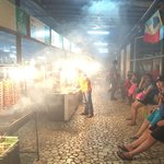 The food stall, fair price and recomended