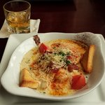 Hot Brown and Bourbon