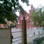 Seduti a prendere il Caffè sulla Piazza Rossa