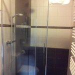 Wygodny prysznic