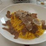 Tajarin with white truffle