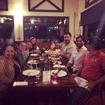 Cena con amigos en Terrazas Restaurante en Cancun