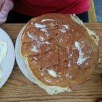 Huge homemade pancake