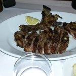 la bistecca intera (quasi un chilo)