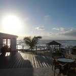 View from the Inn/pool overlooking the sweeping Atlantic ocean