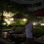 Amari Don Muang - na basenie.