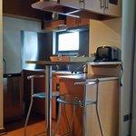 equipado com cozinha