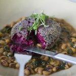 Beet Cauliflower Croquette