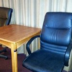 Adequate chairs for eating or using table