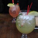 De superbes cocktails.