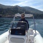 Self drive boat tour along Amalfi coast...a must!!