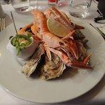 Le plateau de fruits de mer (un délice)