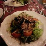 salade d'oreille de cochon