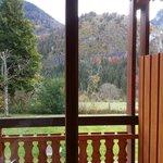 Vue très agréable de la petite terrasse.