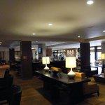 reception/lobby/breakfast area...