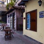 Vista do lado de fora do restaurante (Belo Horizonte - nov.2014)