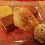 Dessert au chocolat.