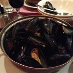 Prince Edward Mussels with garlic and white wine