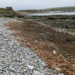 A tricky walk as the rocks and pebbles rquire of strong ankles to make headway