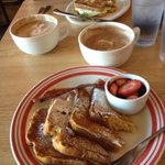 Rum French Toast and French Toast Egg Sandwich