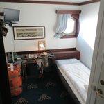 Room at the Malardrottningen Yacht Hotel