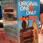 Hooter's Waterside Menu