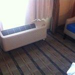 Ar condicionado e carpete