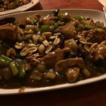 chicken kung pao dish