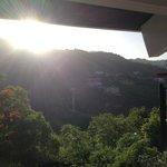 Morning view sun shining