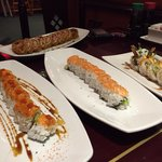 Assortiments de sushis délicieux !