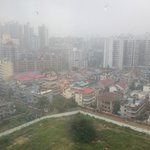 Rainy view of  Haikou