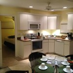 Fully equipped kitchenette area