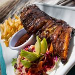 Sun Glazed BBQ Ribs