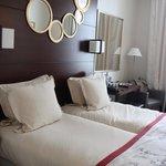Our room at Hotel le Senat