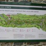 Lydford Gorge walk
