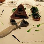 Foie gras aux artichauts truffés
