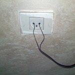 Stromkabel einer Lampe...
