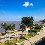 view from our room over Tongle Sap