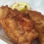 Black Fish Battered and Fried Fresh
