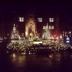 Abbey house looks gorgeous this Christmas