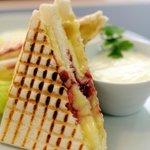 Grilled sandwich Tramezzini