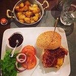 Burger di pollo e patate arrosto!!!