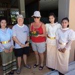 la fete de Loi Kratong avec l'équipe de l'hotel