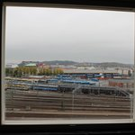 Spectacular view of Goteborg central rly. stn