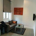 Superior studio living room